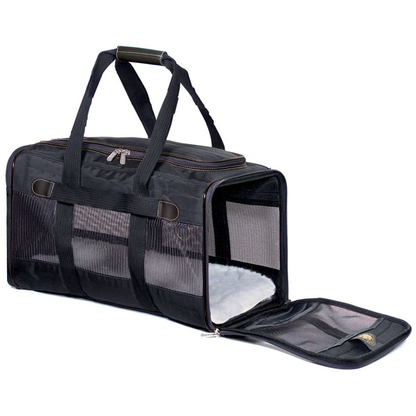 Sherpa Original Deluxe Pet Carrier, Black