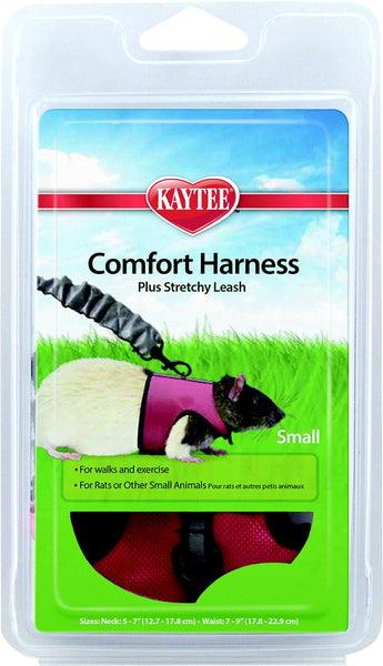 Kaytee Small Animal Harness & Stretchy Leash