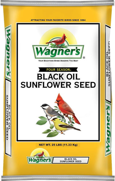 Wagner's Four Season 100% Black Oil Sunflower Seed Wild Bird Food