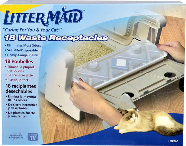 LitterMaid Waste Receptacles for Self-Cleaning Cat Litter Box