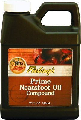 Fiebing's Prime Neatsfoot Oil Compound for Horses, 32-oz bottle