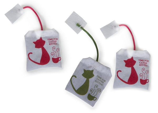 Petlinks Tea Zing 100% Catnip Filled Cat Toy, 3 count