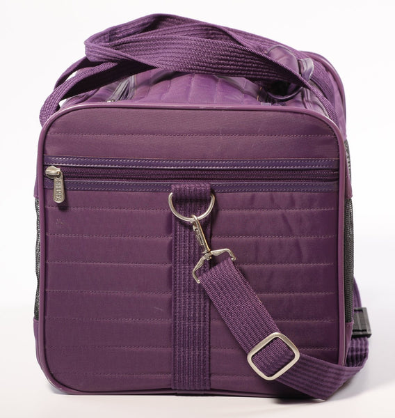 Sherpa Original Deluxe Pet Carrier, Plum