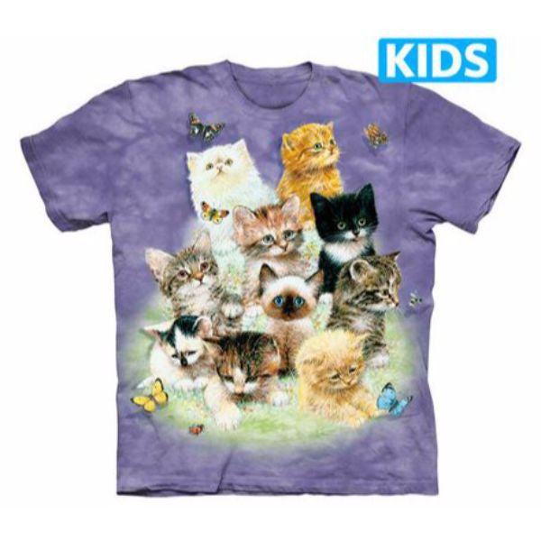 10 Kittens Kids T-Shirt