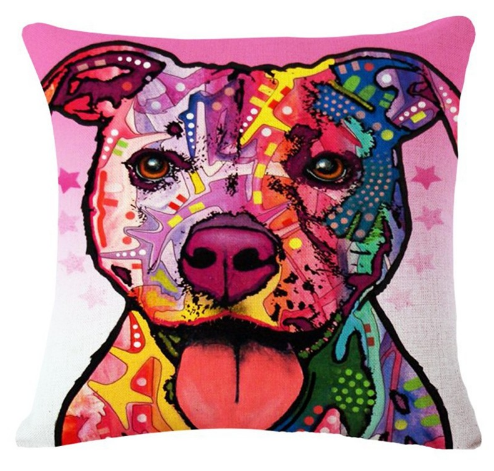 *Dog Pillow Cover