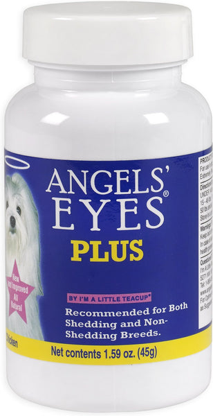 Angels' Eyes Plus Chicken Flavor Antibiotic Free Supplement for Dogs