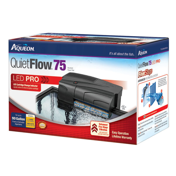 Aqueon QuietFlow Fresh & Saltwater Aquarium Filter