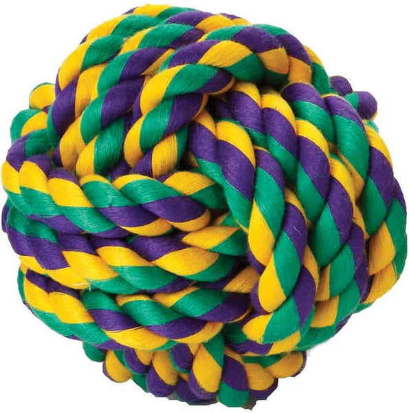 Multipet Nuts for Knots Ball Dog Toy