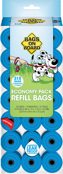Bags on Board Bag Refill Pack