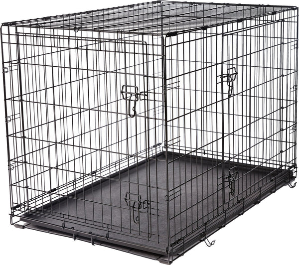 Frisco Fold & Carry Double Door Dog Crate
