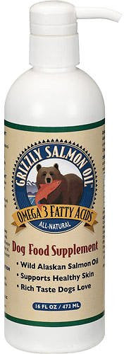 Grizzly Salmon Oil Dog & Cat Supplement