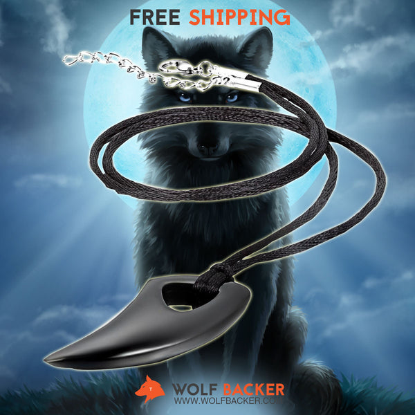 FREE SHIPPING + 30% OFF TODAY - Wolf Teeth Alpha Spear Pendant