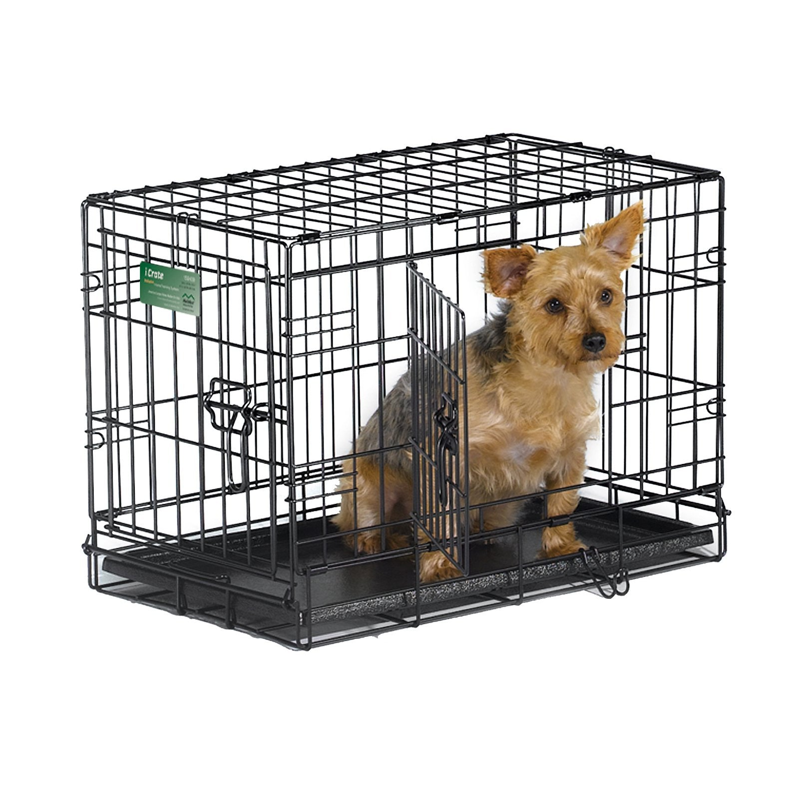 MidWest ICrate Double Door Fold U0026 Carry Dog Crate