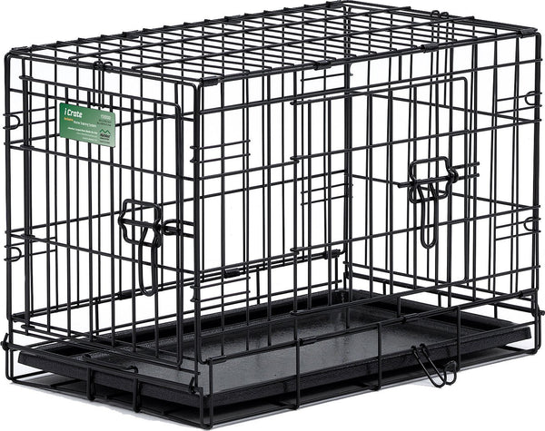 MidWest iCrate Double Door Fold & Carry Dog Crate
