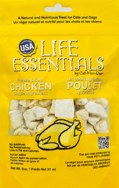 Cat-Man-Doo Chicken Freeze-Dried Cat & Dog Treats