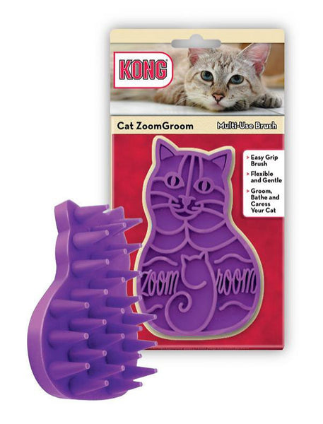 KONG Cat ZoomGroom Multi-Use Brush