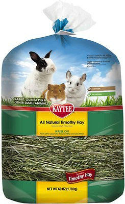 Kaytee Timothy Hay Wafer-Cut Small Animal Food