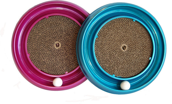 Bergan Turbo Scratcher Cat Toy (Color Varies)