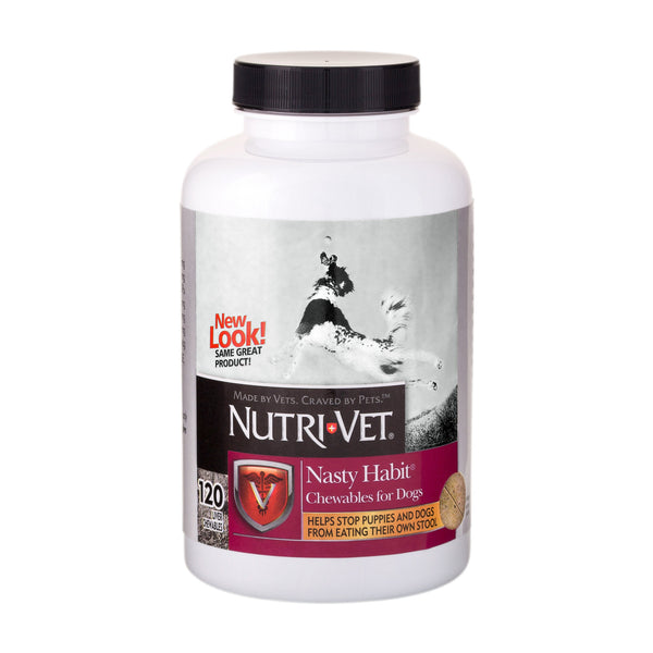 Nutri-Vet Nasty Habit Dog Chewables