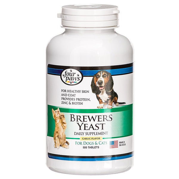 Four Paws Brewers Yeast Garlic Flavor Tablets