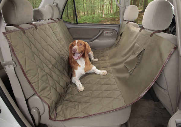 Solvit Deluxe Sta-Put Hammock Seat Cover for Pets