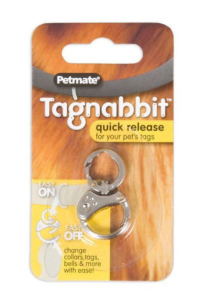 Petmate Tagnabbit Quick Release Pet Ring for Tags