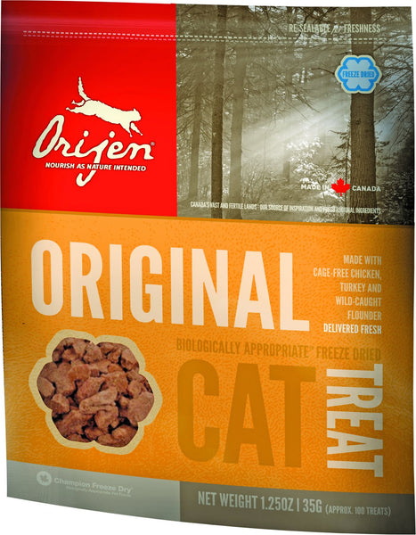Orijen Original Freeze-Dried Cat Treats, 1.25-oz bag