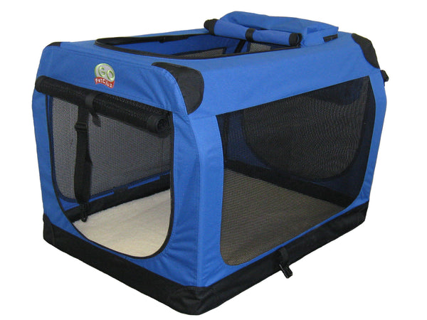 GoPetClub Soft Portable Pet Carrier, Blue