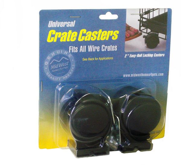 MidWest Universal Crate Caster, 2-pack