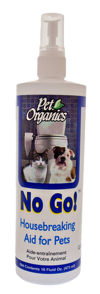 NaturVet Pet Organics No Go! House Breaking Aid for Dogs & Cats, 16-oz bottle