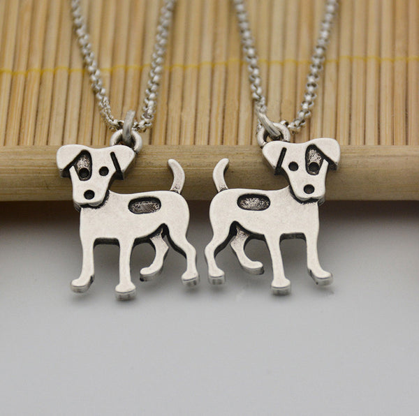 Cute Jack Russell Terrier Necklace