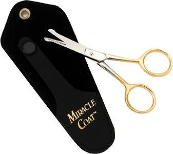 "Miracle Care 4"" Safety Ball Tip Shears for Dogs & Cats"