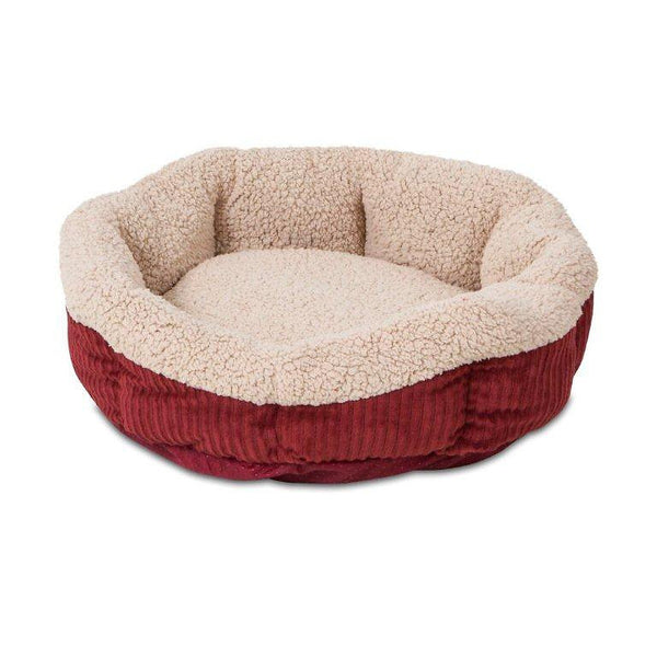 Aspen Pet Self Warming Pet Bed, Warm Spice/Cream
