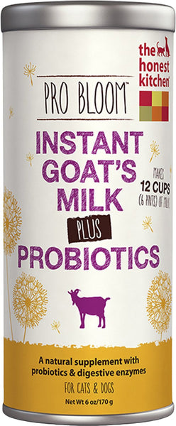 The Honest Kitchen Pro Bloom Instant Goat's Milk for Dogs & Cats, 6-oz bottle
