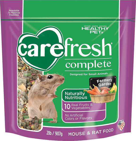 CareFresh Complete Menu Rat & Mouse Food, 2-lb bag