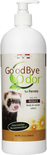 Marshall Goodbye Body & Waste Odor Ferret Supplement