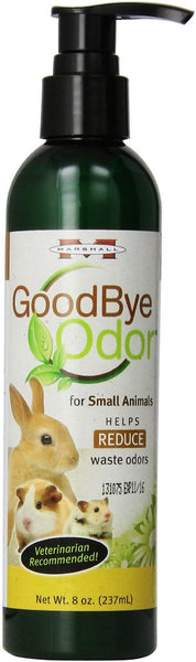 Marshall Goodbye Body & Waste Odor Small Animal Supplement, 8-oz bottle