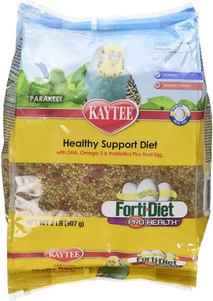 Kaytee Egg-Cite! Forti-Diet Pro Health Parakeet Bird Food