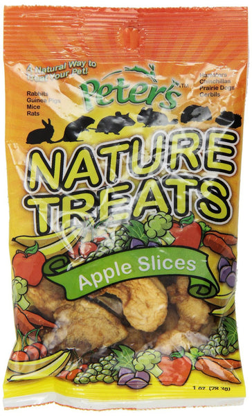 Peter's Apple Slices Small Animal Nature Treats, 1-oz bag