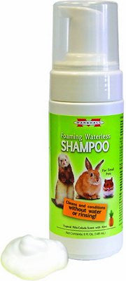 Marshall Foaming Waterless Shampoo for Small Pets, 5-oz bottle