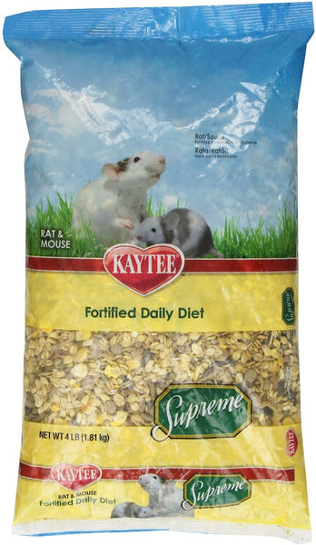 Kaytee Supreme Fortified Daily Diet Rat & Mouse Food