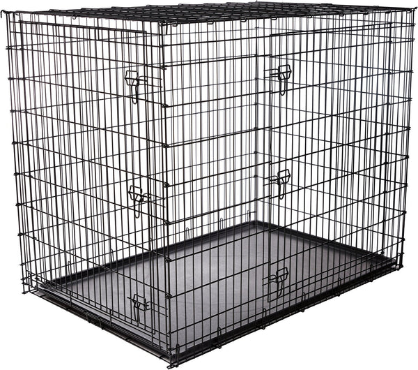 Frisco XX-Large Heavy Duty Double Door Dog Crate, 54-in