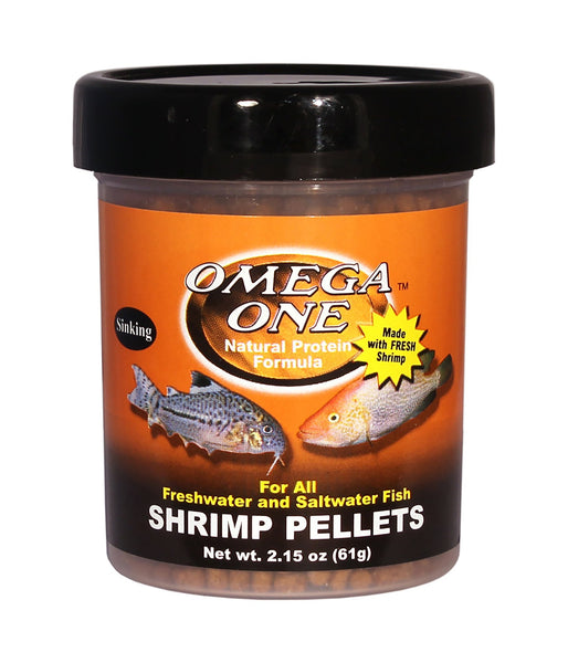 Omega One Sinking Shrimp Pellets Freshwater & Saltwater Fish Food