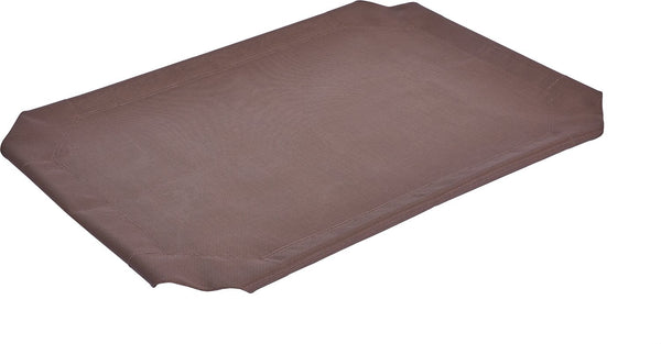 Frisco Replacement Cover for Steel-Framed Elevated Pet Bed, Brown