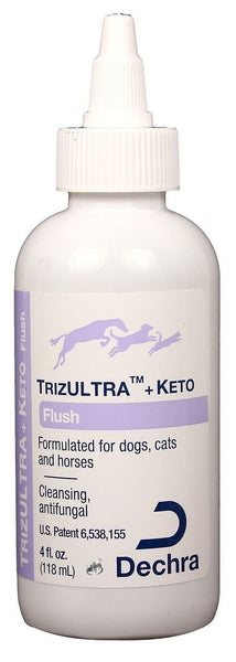 TrizULTRA + Keto Flush for Dogs, Cats & Horses, 4-oz bottle