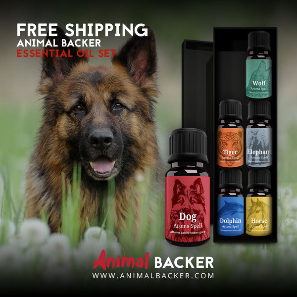 ANIMAL BACKER ESSENTIAL OIL COMPLETE SET (GSD)