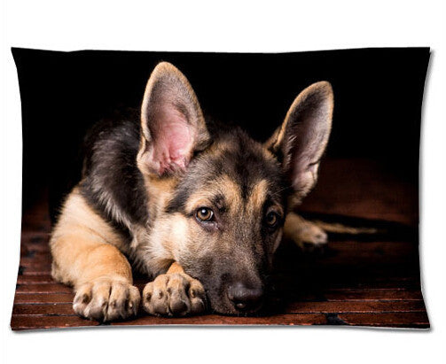 German Shepherd Dog Cool Soft Pillow Cases ...