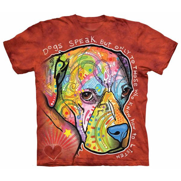 Dogs Speak T-shirt