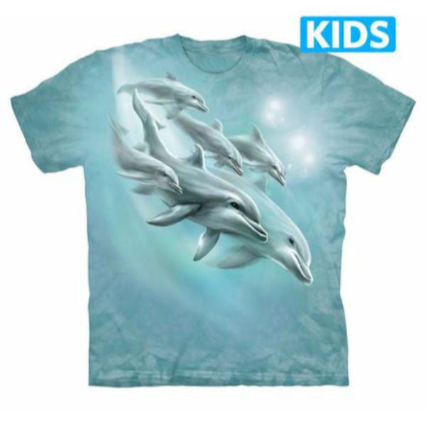 Dolphin Dive Kids T-Shirt
