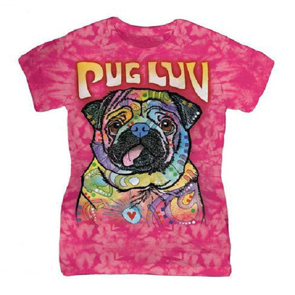 Pug Luv Womens T-Shirt - $25.95 ONLY FOR 3 DAYS!